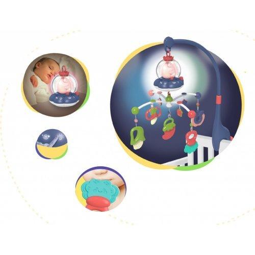 ΜΟΥΣΙΚΟ ΠΕΡΙΣΤΡΕΦΟΜΕΝΟ - KIKKA BOO MUSICAL MOBILE ALL IN ONE BLUE 31201010144