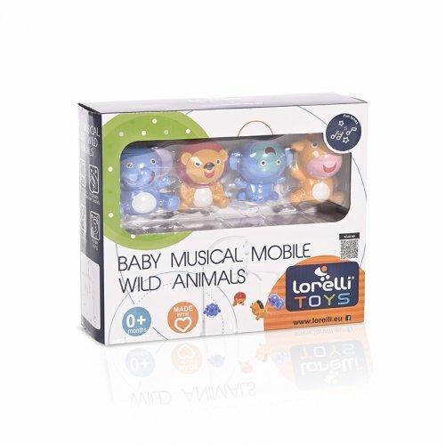 ΜΟΥΣΙΚΟ ΠΕΡΙΣΤΡΕΦΟΜΕΝΟ ΠΑΙΧΝΙΔΙ ΚΟΥΝΙΑΣ LORELLI WILD ANIMALS 1031025