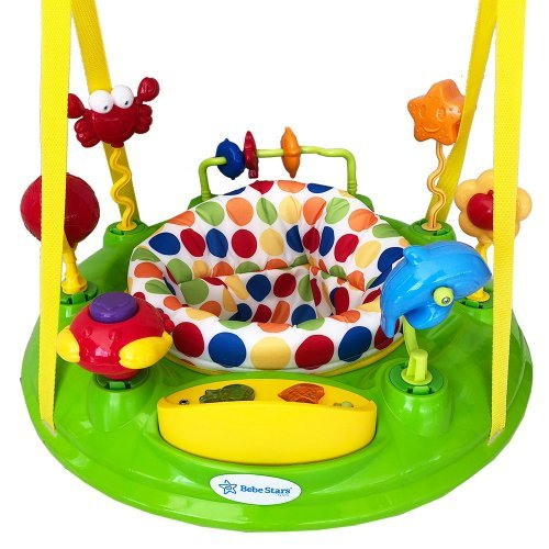 Τραμπολίνο Bebe Stars Jump&Go Sea Animals 4106