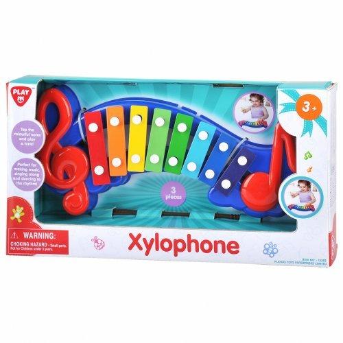 Playgo Χαρούμενο Πολύχρωμο Ξυλόφωνο Με 8 Πλήκτρα 13383