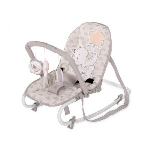 ΒΡΕΦΙΚΟ ΡΙΛΑΞ LORELLI ROCK STAR LIGHT GREY ELEPHANT 10110132048
