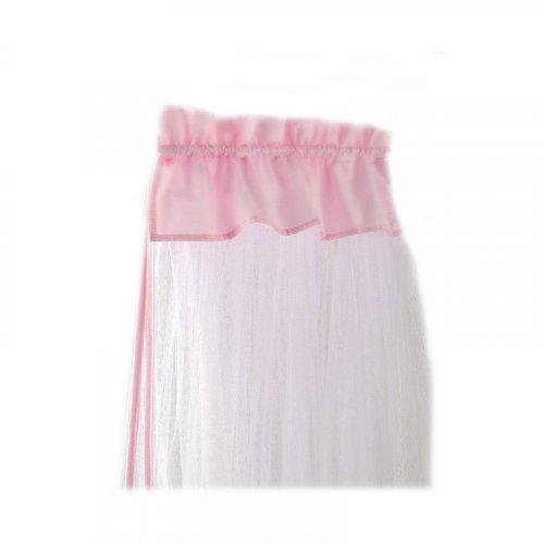 Κουνουπιέρα Κρεβατιού Bebe Stars με ρέλι Pink 602-185