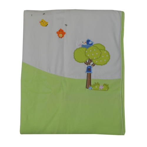 Κουβέρτα Βελουτέ Bebe Stars Little Birds 2016