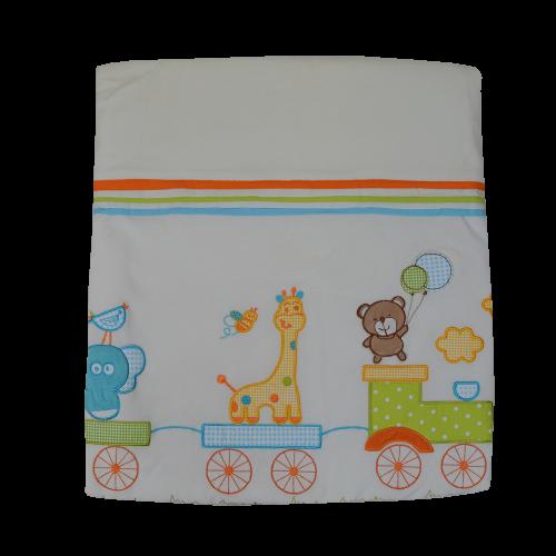 Κουβέρτα Bελουτέ Bebe Stars Safari 2056