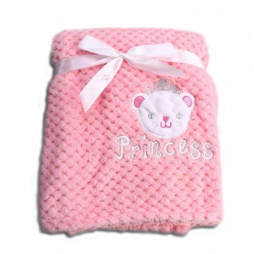 Βρεφική κουβέρτα Fleece Cangaroo Freya Pink 106852