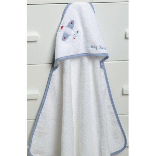 ΜΠΟΥΡΝΟΥΖΙ ΚΑΠΑ BABY OLIVER 75X75 UP UP AND AWAY BLUE 46-6730/145