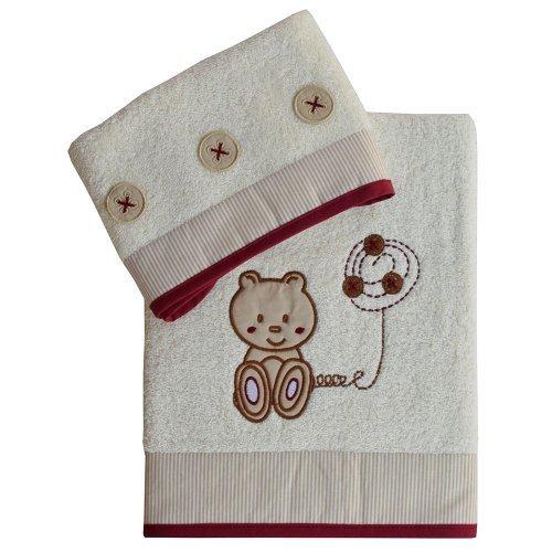 Σετ Πετσέτες Bebe Stars Teddy Bear 3084