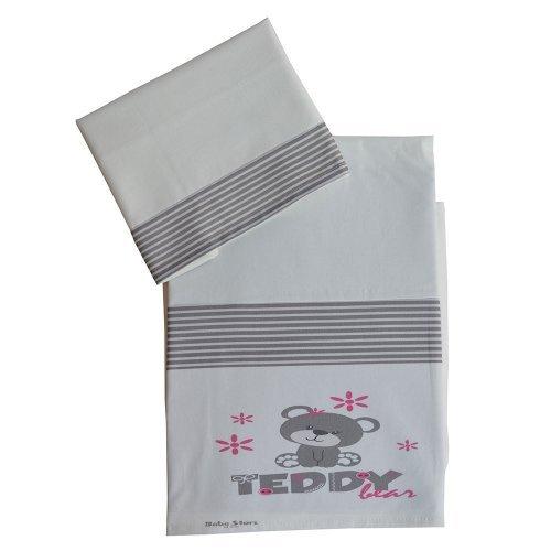 Σετ Σεντόνια Bebe Stars Teddy Flower 3011