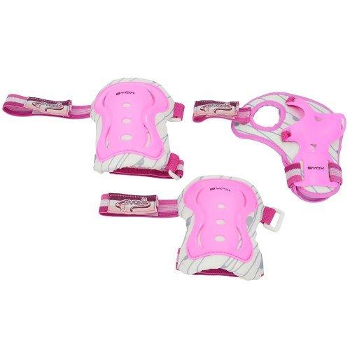 Cangaroo Παιδικό σετ επιαγκωνίδα-επικάρπιο Amar 2 Ροζ (25-50 κιλά) 3800146225209