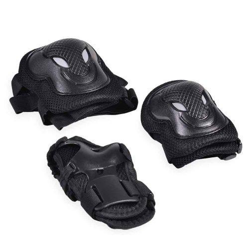Byox Σετ Παιδικά Προστατευτικά Μαύρο GX-P168-5 Medium 3800146254346