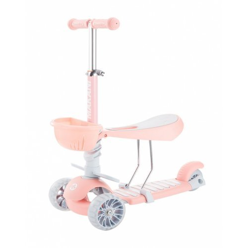 SCOOTER ΠΑΤΙΝΙ ΠΕΡΠΑΤΟΥΡΑ KIKKA BOO 3IN1 BONBON CANDY PINK 31006010094