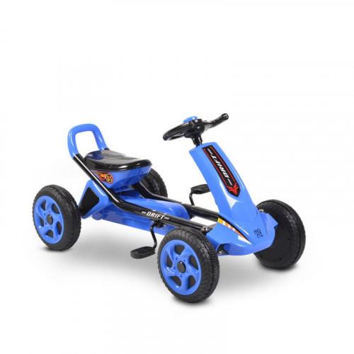 ΠΟΔΟΚΙΝΗΤΟ ΑΥΤΟΚΙΝΗΤΑΚΙ MONI GO CART DRIFT PLASTIC WHEELS BLUE 3800146230401