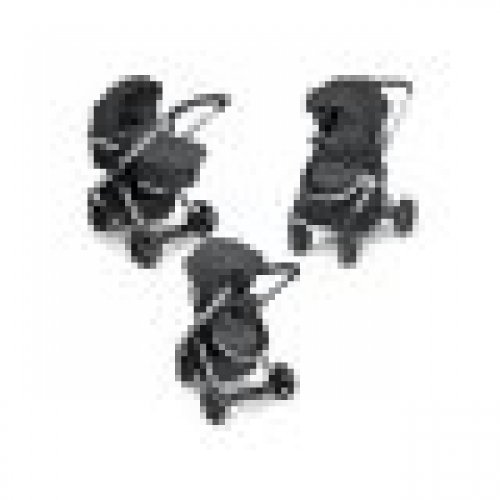 CHICCO ΚΑΡΟΤΣΙ ΠΕΡΙΠΑΤΟΥ URBAN PLUS BLACK O03-79418-95-ANTHRACITE - (ΔΩΡΟ AΞΙΑΣ €40 ΕΝΔΟΕΠΙΚΟΙΝΩΝΙΑ)