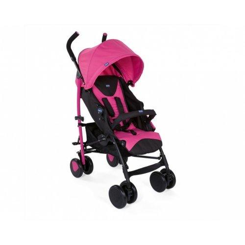 Καρότσι Μπαστούνι με μπάρα προστασίας Echo Deep Pink Chicco O06-79431-62 - (ΔΩΡΟ ΜΑΡΣΙΠΟΣ AΞΙΑΣ €20)