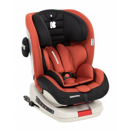 ΚΑΘΙΣΜΑ ΑΥΤΟΚΙΝΗΤΟΥ ISOFIX GROUP 0/1/2/3 (0-36KG) KIKKA BOO STRONG 4 ORANGE 31002070033