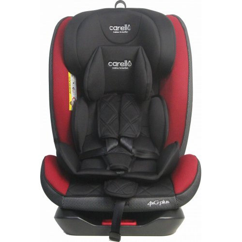 ΚΑΘΙΣΜΑ ΑΥΤOKINHTOY 0-36 KG ME ISOFIX CARELLO 4XG PLUS RED