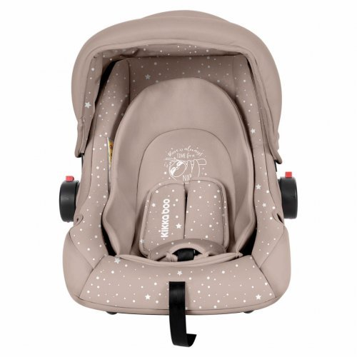 ΚΑΘΙΣΜΑ ΑΥΤΟΚΙΝΗΤΟΥ KIKKA BOO GROUP 0+ (0-13KG) LITTLE TRAVELER BEIGE SLOTH 31002020056