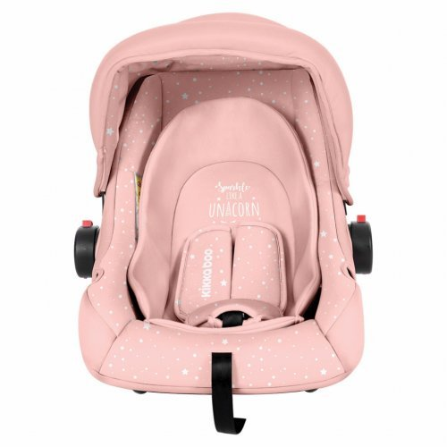 ΚΑΘΙΣΜΑ ΑΥΤΟΚΙΝΗΤΟΥ KIKKA BOO GROUP 0+ (0-13KG) LITTLE TRAVELER PINK UNICORN 31002020058