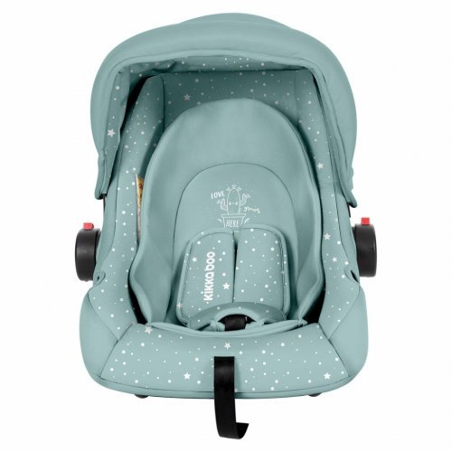 ΚΑΘΙΣΜΑ ΑΥΤΟΚΙΝΗΤΟΥ KIKKA BOO GROUP 0+ (0-13KG) LITTLE TRAVELER MINT CACTUS 31002020057
