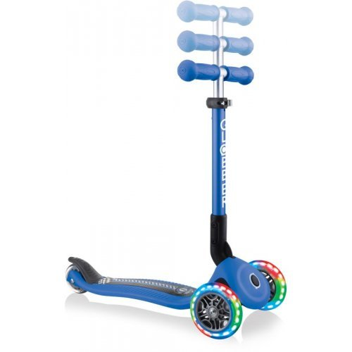 Globber Scooter Junior Foldable Fantasy Lights Racing Navy Blue 433-100 - (ΔΩΡΟ AΞΙΑΣ €5 ΚΟΥΔΟΥΝΙ)