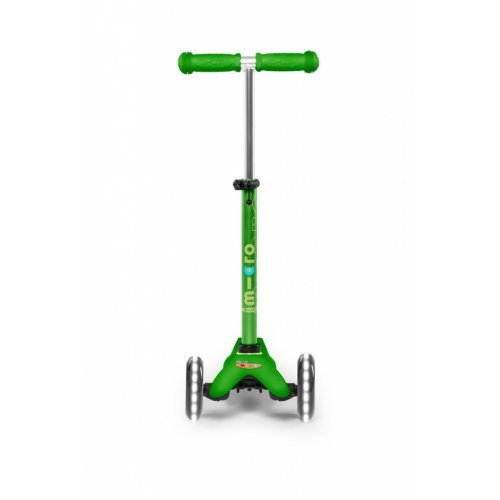 Micro Scooters Mini Micro Deluxe Led Green MMD051 - (ΔΩΡΟ AΞΙΑΣ €5 ΚΟΥΔΟΥΝΙ)