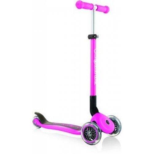 Globber Scooter Primo Foldable Deep Pink 430-110-2 - (ΔΩΡΟ AΞΙΑΣ €5 ΚΟΥΔΟΥΝΙ ΠΥΞΙΔΑ)