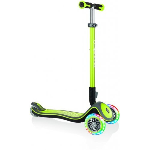GLOBBER SCOOTER ELITE DELUXE LIGHTS LIME GREEN 444-406 - (ΔΩΡΟ AΞΙΑΣ €5 ΚΟΥΔΟΥΝΙ ΠΥΞΙΔΑ)