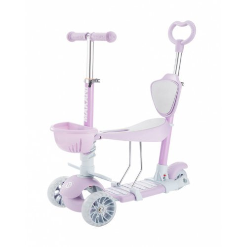 SCOOTER ΠΑΤΙΝΙ ΠΕΡΠΑΤΟΥΡΑ KIKKA BOO 4IN1 BONBON CANDY LILAC 31006010100