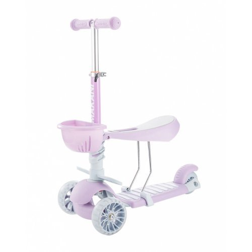 SCOOTER ΠΑΤΙΝΙ ΠΕΡΠΑΤΟΥΡΑ KIKKA BOO 3IN1 BONBON CANDY LILAC 31006010096