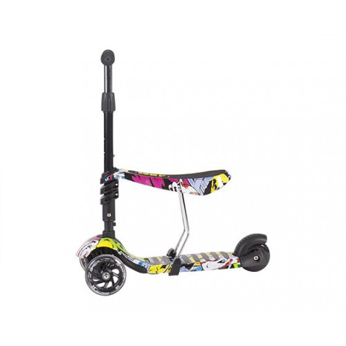 KIKKA BOO SCOOTER 3 IN 1 RIDE AND SKATE TRAIN 31006010023