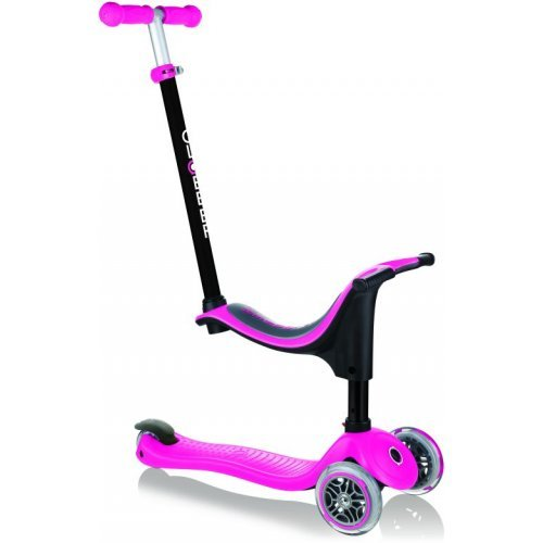 Παιδικό πατίνι Globber Go-Up Sporty Deep Pink 451-110-3  - (ΔΩΡΟ AΞΙΑΣ €5 ΚΟΥΔΟΥΝΙ ΠΥΞΙΔΑ)