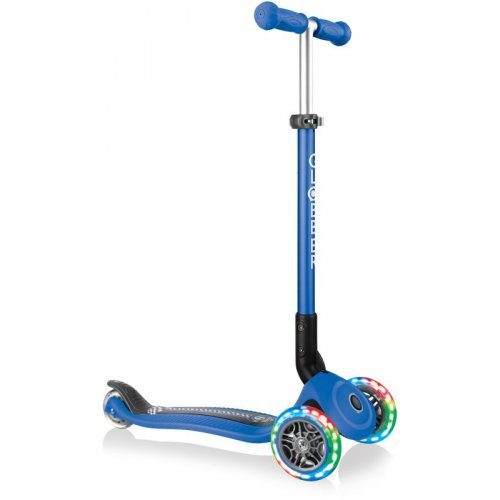 Globber Scooter Primo Foldable Fantasy Lights Racing Navy Blue 434-100 - (ΔΩΡΟ AΞΙΑΣ €5 ΚΟΥΔΟΥΝΙ ΠΥΞΙΔΑ)