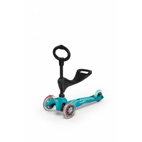 Micro Scooters Mini 3 in 1 Deluxe Aqua MMD011 - (ΔΩΡΟ AΞΙΑΣ €5 ΚΟΥΔΟΥΝΙ)