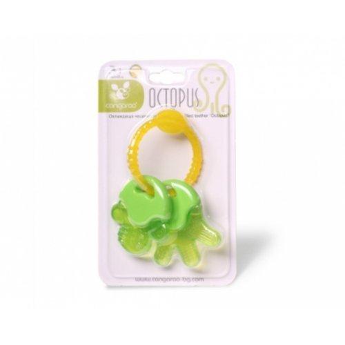 Μασητικό οδοντοφυΐας με νερό Octopus Green Cangaroo 106598