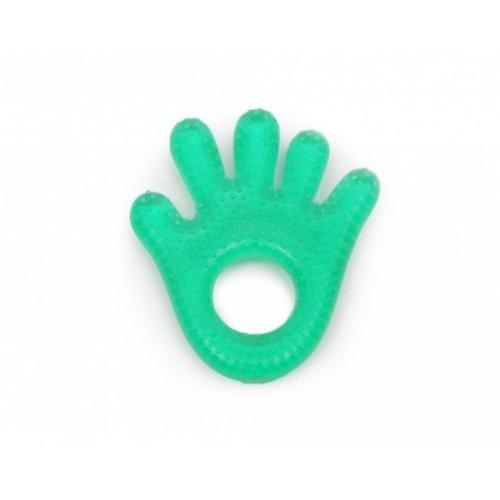 Μασητικό οδοντοφυΐας με νερό Hand Green Cangaroo 103025