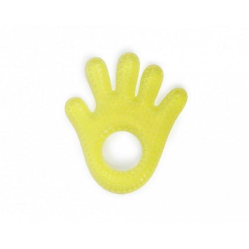 Μασητικό οδοντοφυΐας με νερό Hand Yellow Cangaroo 103337