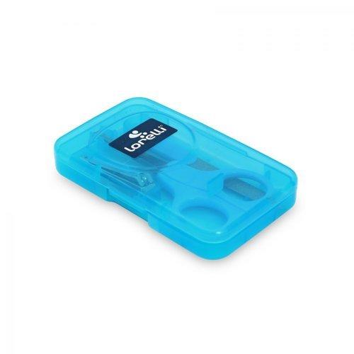ΣΕΤ ΠΕΡΙΠΟΙΗΣΗΣ ΝΥΧΙΩΝ MANICURE SET IN CASE 1024028-BLUE