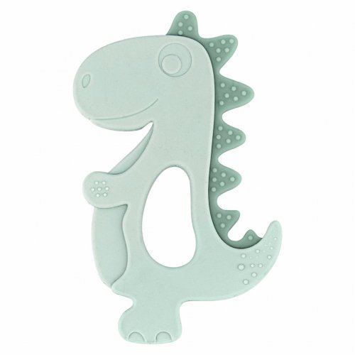 ΜΑΣΗΤΙΚΟ ΣΙΛΙΚΟΝΗΣ - KIKKA BOO SILICONE TEETHER DINOSAUR MINT 31303020027