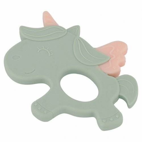 ΜΑΣΗΤΙΚΟ ΣΙΛΙΚΟΝΗΣ - KIKKA BOO SILICONE TEETHER UNICORN MINT 31303020029