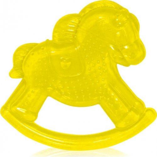 ΜΑΣΗΤΙΚΟ ΟΔΟΝΤΟΦΥΙΑΣ ΜΕ ΝΕΡΟ WATER FILLED TEETHER HORSE  1021062-YELLOW