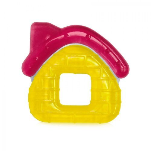 ΜΑΣΗΤΙΚΟΣ ΚΡΙΚΟΣ WATER FILLED TEETHER HOUSE  1021059-YELLOW